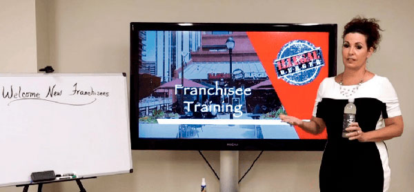 franchise and training support